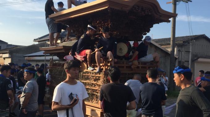 1サムネイル岸和田祭 潮かけ