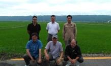 石川県能登の契約ファームを訪問しました