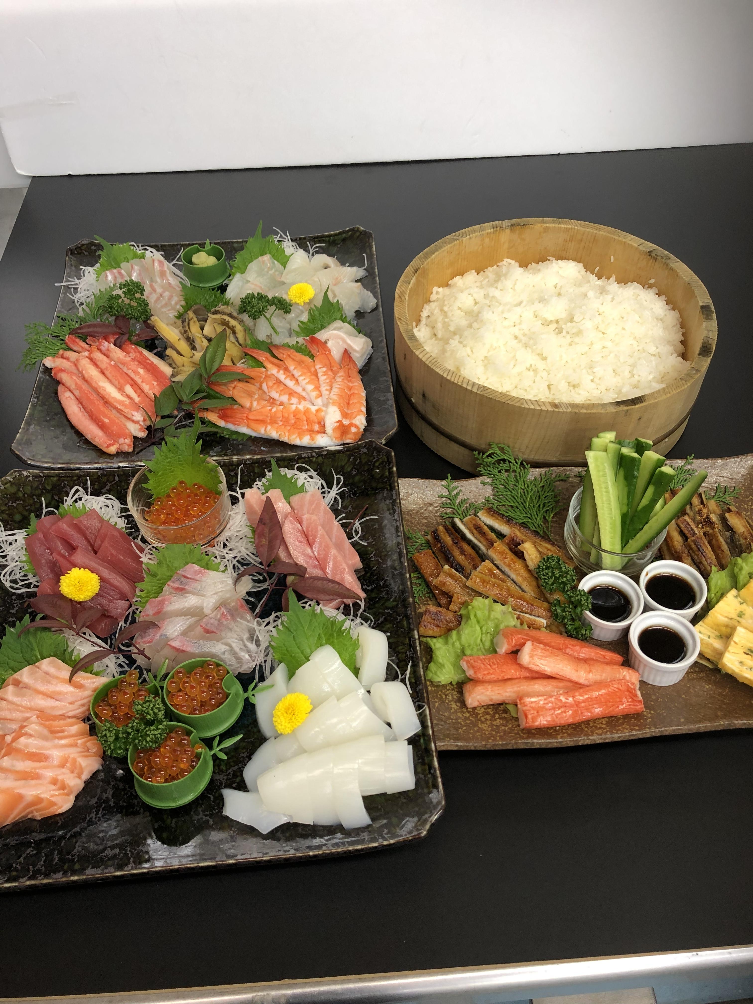 雛祭りに 手巻き寿司パーティーいかがですか?